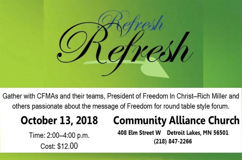 Refresh Registration
