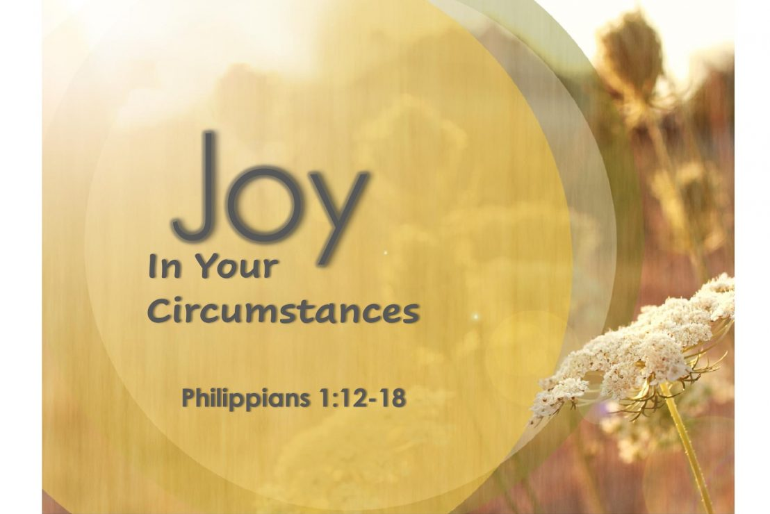 Joy In Your Circumstances